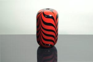 vaso rosso e nero