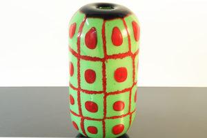 Vaso Verde E Rosso